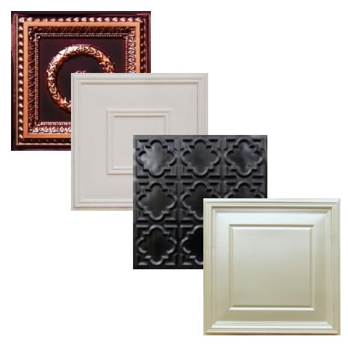 Commercial Faux Tin Ceiling Tiles, Styrofoam tiles, polystyrene tiles, home improvement, ceiling decor, replace ceiling