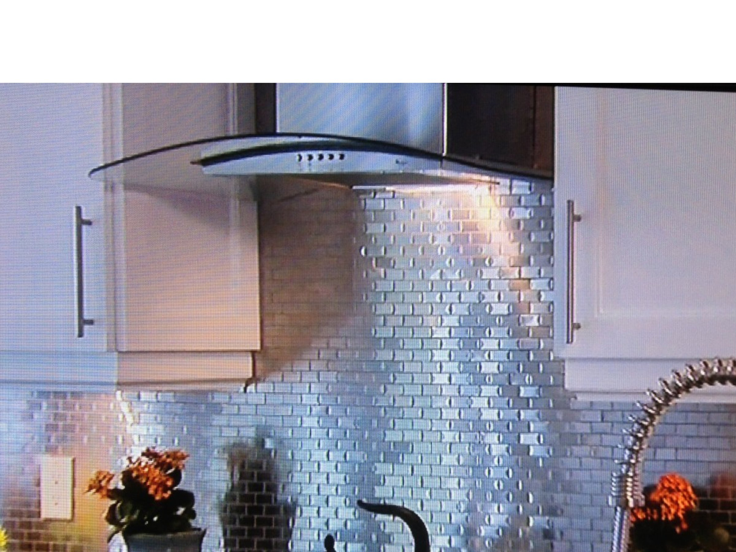 - Tin Backsplash On Property Brothers Decorative Ceiling Tiles