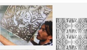 Tin Ceiling Tiles on Property Brothers