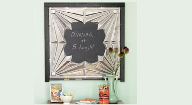 Tin Ceiling Tile Magnetic Chalkboards