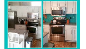 Before & After Backsplash Remodel-