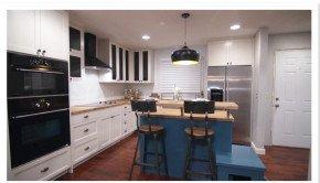 Tin Kitchen Backsplash on HGTV's Renovation Raiders