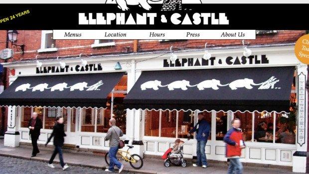 Decorative Ceiling Tiles at Elephant & Castle Dublin