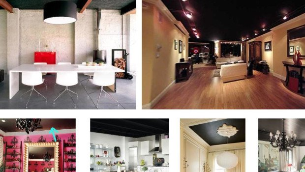 Black Ceiling Inspiration