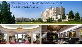 Decorative Ceiling Tiles at The Ballantyne Hotel Charlotte North Carolina