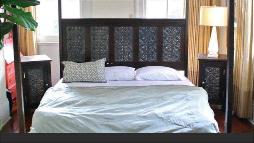 Decorative Tin Tile Bedroom Furniture