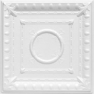 Romanesque Wreath Styrofoam Ceiling Tile R 47
