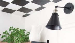 Black and White Checkered Ceilings