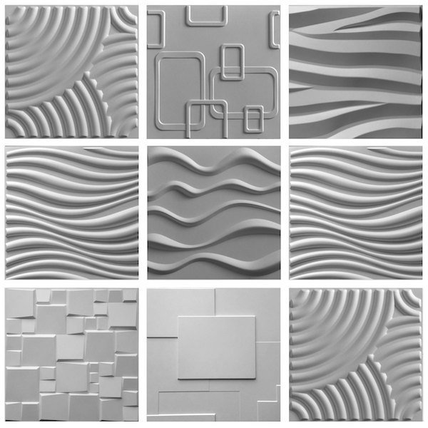 3D Bamboo EcoTiles Sample Pack