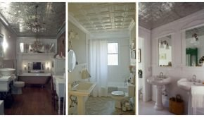 Can Metal Ceiling Tiles Be Used in a Bathroom