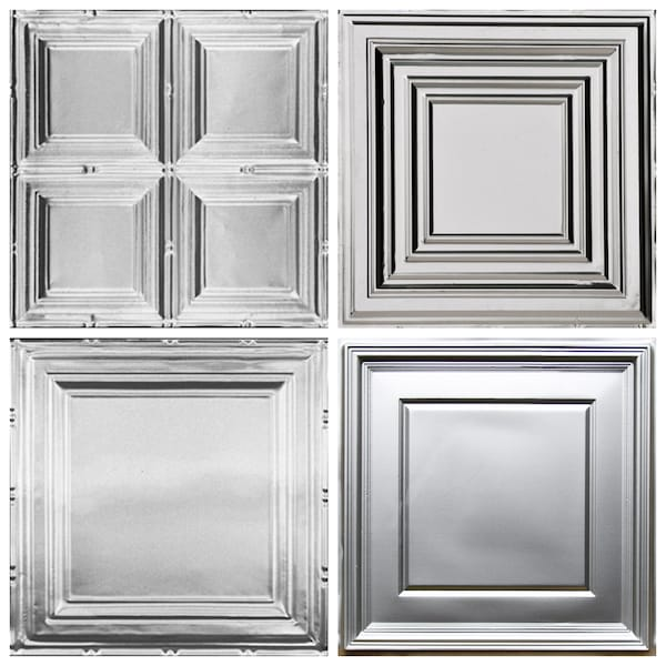 Classic Square Decorative Ceiling Tiles