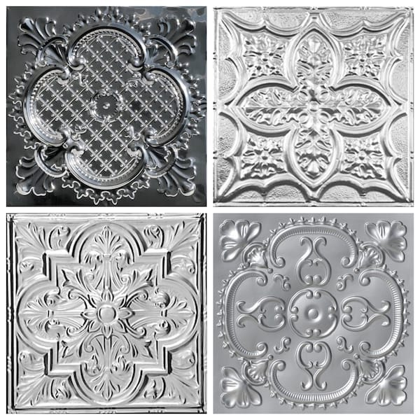 Clover-Style Decorative Ceiling Tiles