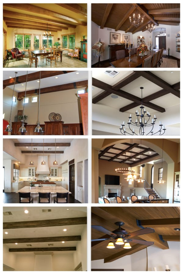 Faux Wood Beam Ceiling Inspiration